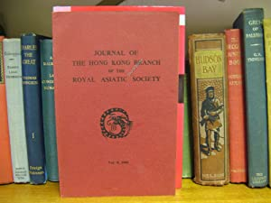 Journal of the Hong Kong Branch of