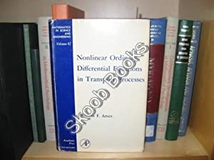 Nonlinear Ordinary Differential Equations in Transport Processes