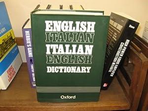 Dizionario Inglese-Italiano, Italiano-Inglese: Adattamento e Ristrutturazione Dell'Originale &...