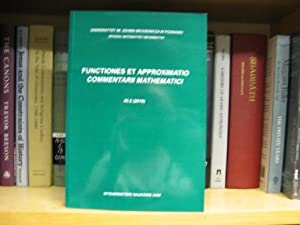 Functiones Et Approximatio Commentarii Mathematici 43.2 (2010
