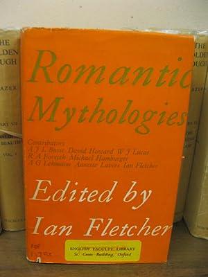 Romantic Mythologies: Fletcher, Ian (ed.)