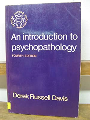 An Introduction to Psychopathology: Davis, Derek Russell