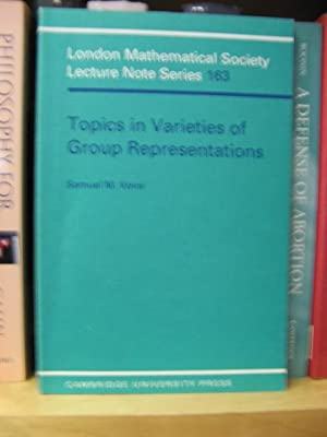 Topics in Varieties of Group Representations (London Mathematical Society Lecture Note Series): ...