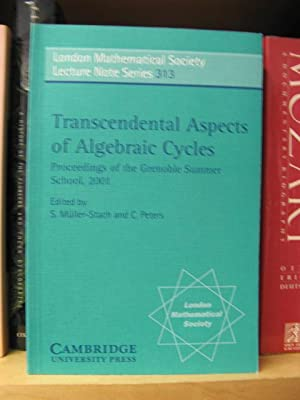 Transcendental Aspects of Algebraic Cycles (London Mathematical Society Lecture Note Series): ...