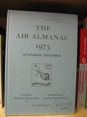 The Air Almanac: September - December 1973