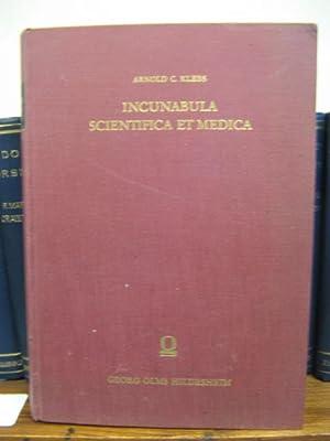 Incunabula Scientifica et Medica: Klebs, Arnold C.