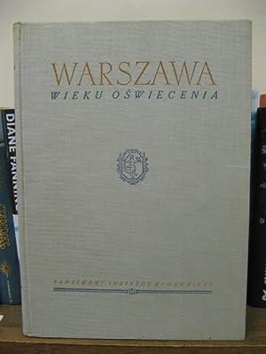 Warsava: Wieku Oswiecenia