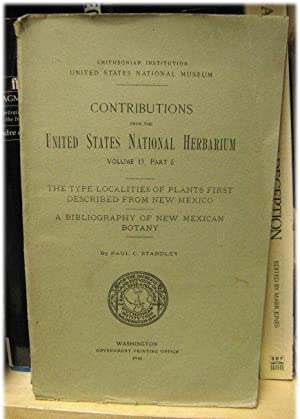 Contributions from the United States National Herbarium: Staandley, Paul C.