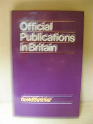 Official Publications in Britain: Butcher, David