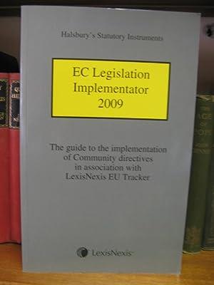 Halsbury's Statutory Instruments: EC Legislation Implementator 2009: Halsbury's Statutes and ...
