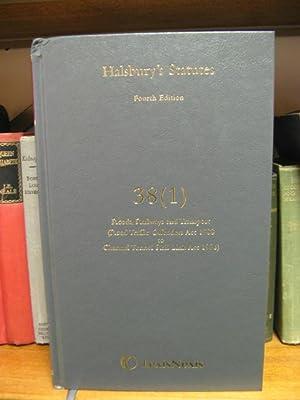 Halsbury's Statutes: Fourth Edition, 38 (1): Roads, Railways and Transport (Road Traffic ...