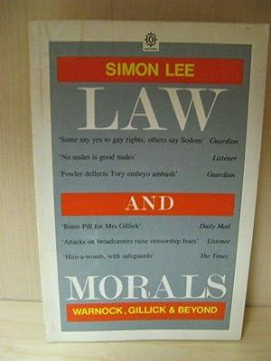 Law and Morals: Warnock, Gillick and Beyond: Lee, Simon