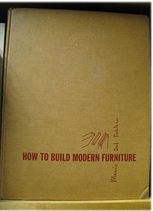 How To Build Modern Furniture, Vol. I: Del Fabbro, Mario