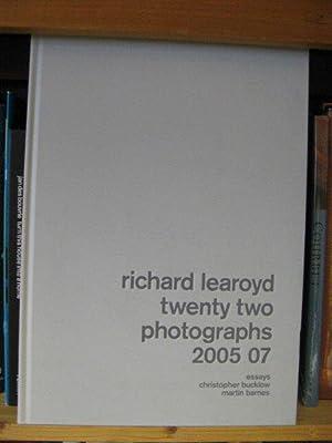 Richard Learoyd: Twenty Two Photographs 2005 07: Barnes, Martin; Bucklow,