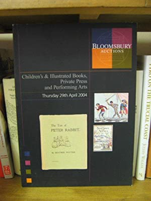 Bloomsbury Auctions: London: Children's & Illustrated Books,: Bloomsbury Auctions
