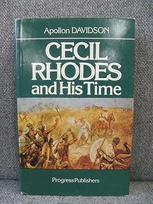 Cecil Rhodes and His Time: Davidson, Apollon