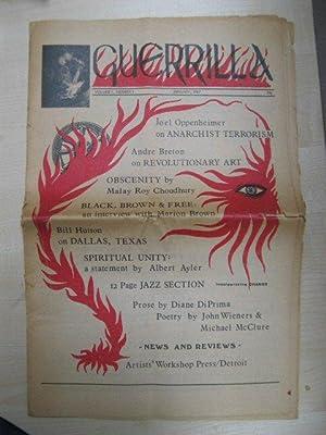 Guerrilla: Volume I, Number I: January, 1967: Van Newkirk, Allen;