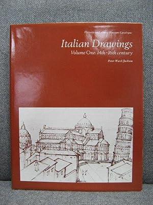 Italian Drawings: Volume One: 14th - 16th: Ward-Jackson, Peter