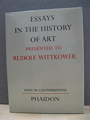 essays in the history of art presented to rudolf wittkower The following bibliography is based on sir ernst's own essays in the history of art presented to rudolf wittkower essays on values in history and in art.