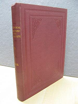 Philosophical Transactions of the Royal Society of London (B): 1889: Vol. 180.