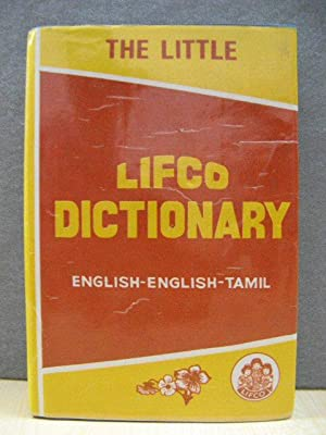 The Little Lifco Dictionary: English-English-Tamil