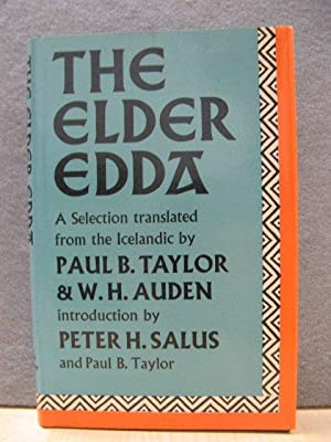 The Elder Edda: A Selection