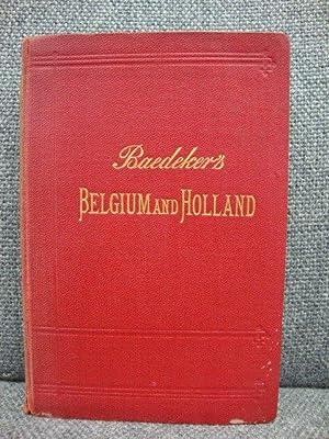 Belgium and Holland: Baedeker, Karl