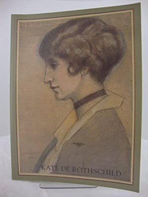 Kate De Rothschild: Drawings and Sketches