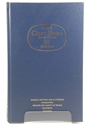 Atkin's Court Forms: Volume 20: 2002 Issue: Turner, Robert (ed.)