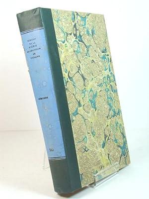 Bulletin & Memoires de la Societe Archeologique de Touraine: Memoires: Tome XLI