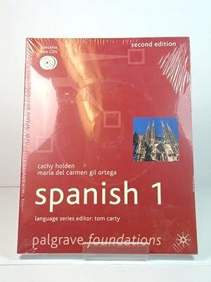 Foundations Spanish 1 (Palgrave Foundations Language Series): del Carmen Gil