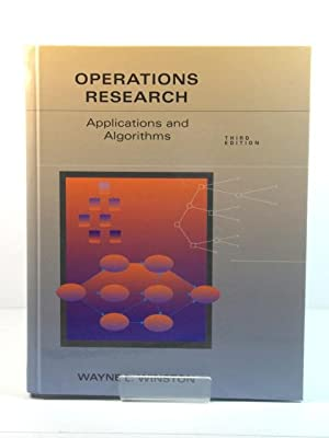 Operations Research: Applications and Algorithms: Winston, Wayne L.