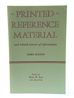 Printed Reference Material and Related Sources of Information