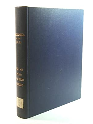 Proceedings of the I. R. E.: Volume 48, 1960, 1213 - 2070 with Indexes