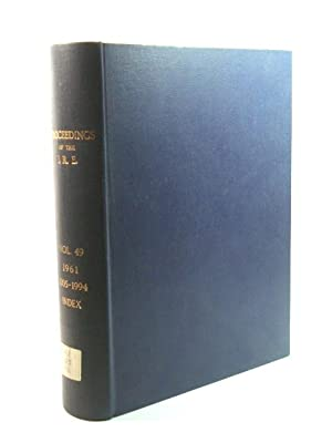Proceedings of the I. R. E.: Volume 49, 1961, 1005 - 1994 with Index