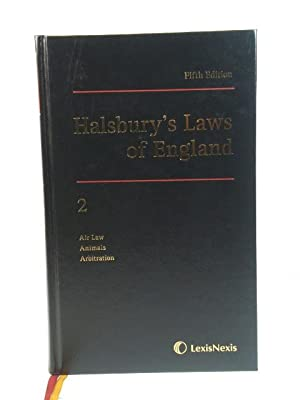 Halsbury's Laws of England: 2: Air Law, Animals, Arbitration: Lord Mackay of Clashfern