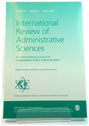 International Review Public Administration - AbeBooks
