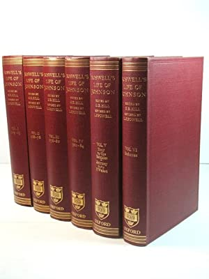 Boswell's Life of Johnson in Six Volumes