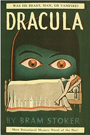DRACULA New Poster of Extraordinary Book Cover