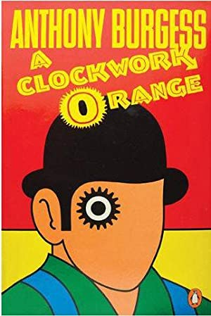 A CLOCKWORK ORANGE New POSTER of Classic Book Cover (A1 size)