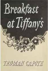 Breakfast At Tiffany's Book Cover Poster A1