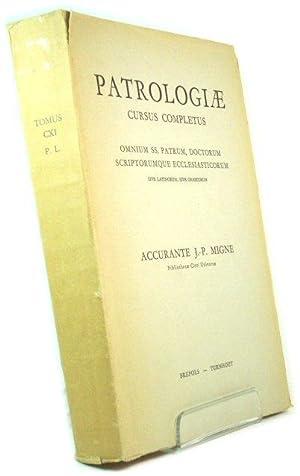 Patrologiae Latinae Tomus CXI: Migne, J.-P. (ed.)