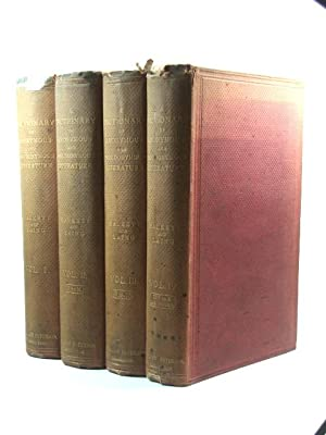 A Dictionary of the Anonymous and Pseudonymous Literature of Great Britain. Including the Works o...