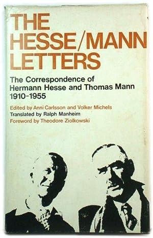 Hermann Hesse Thomas Mann Abebooks
