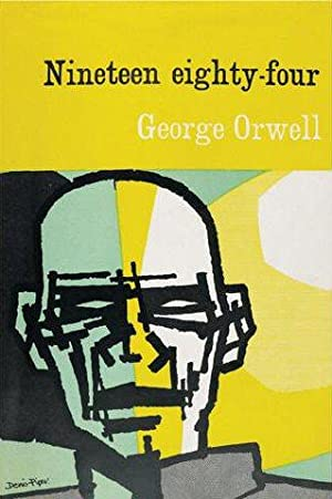 Book Cover Poster of George Orwell's 1984