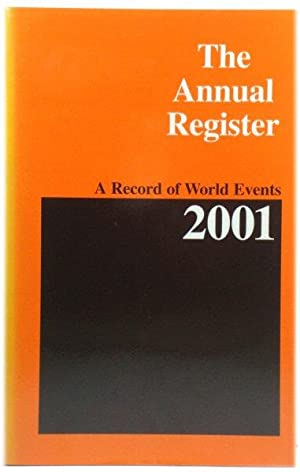 The Annual Register 2001; A Record of World Events: 243