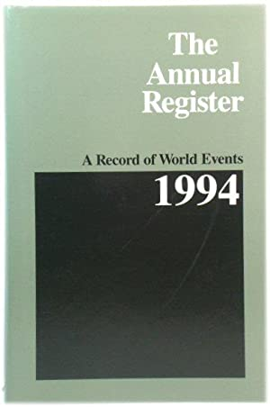 The Annual Register 1994: A Record of World Events: 236