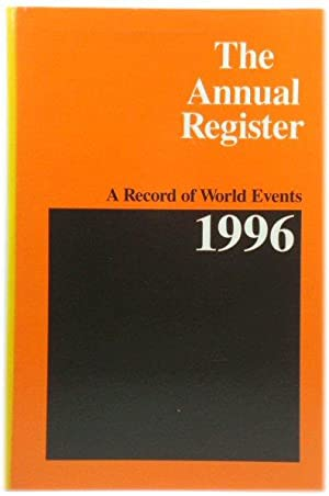 The Annual Register 1996: A Record of World Events: 238