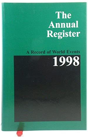 The Annual Register 1998: A Record of World Events: 240