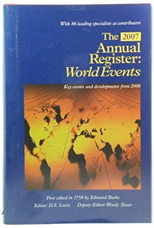 The Annual Register 2007: World Events: 248